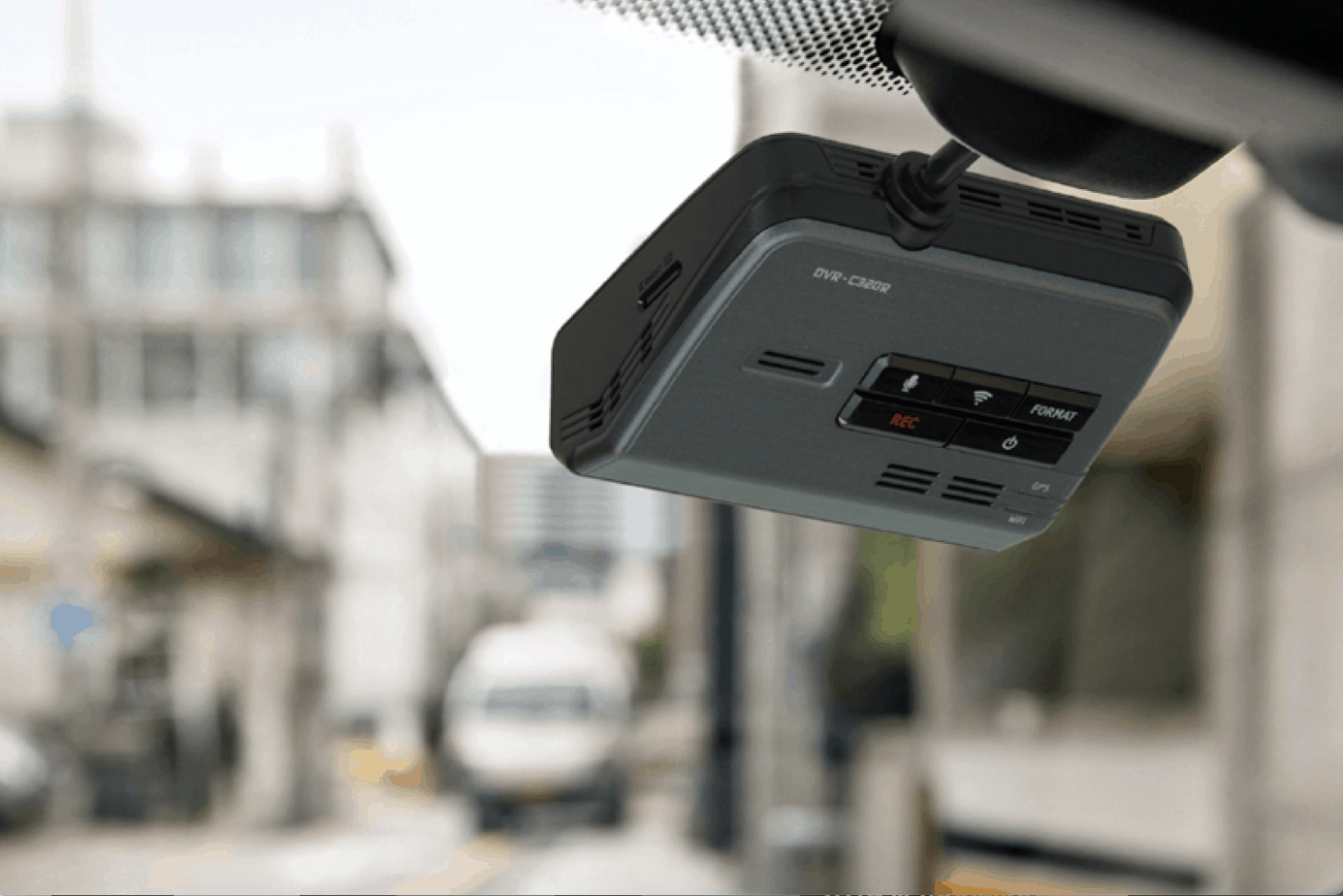 Alpine Dash Camera FEATURED DVR-C320R