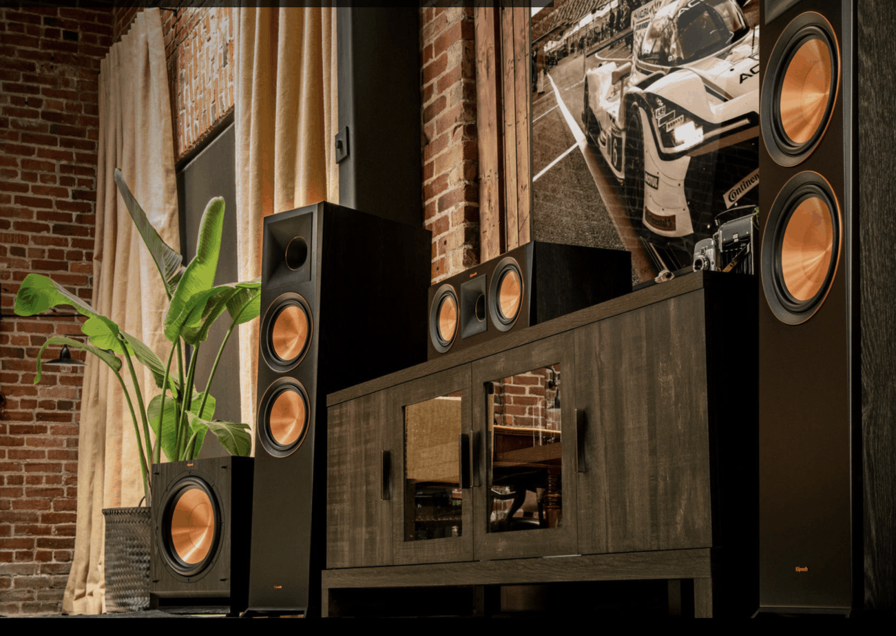 Klipsch Home Theater system SMALL