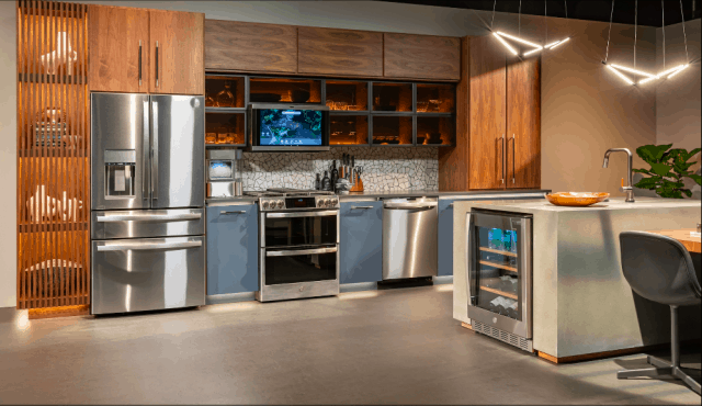 01_GE Profile - Solution Central Kitchen featured at KBIS Virtual 2021