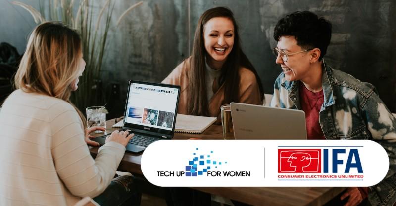 Tech Up For Women IFA 2021 Berlin