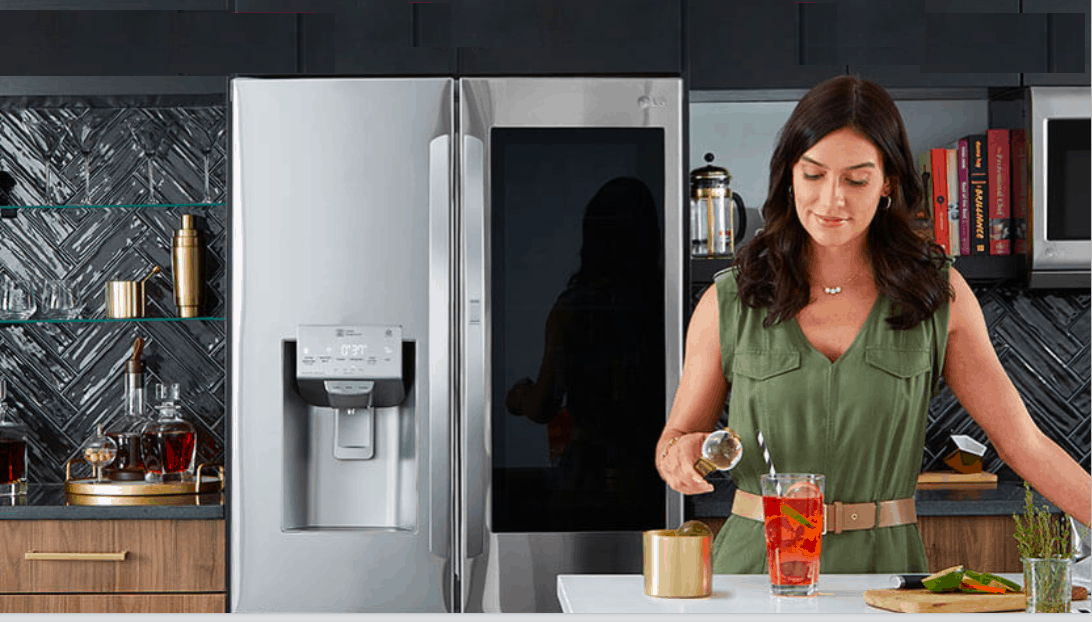 LG - KBIS show -LG Craft Ice Making refrigerator - Featured Image