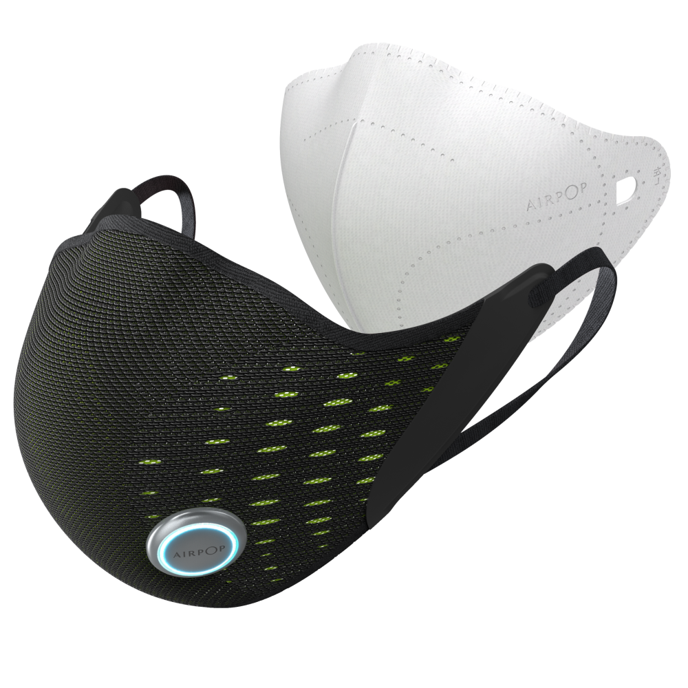AirPop Active+ Face Mask with Halo Sensor