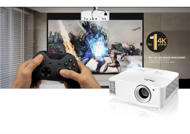 Optoma has released new 4K UHD home entertainment and gaming projectors—UHD35 and UHD38