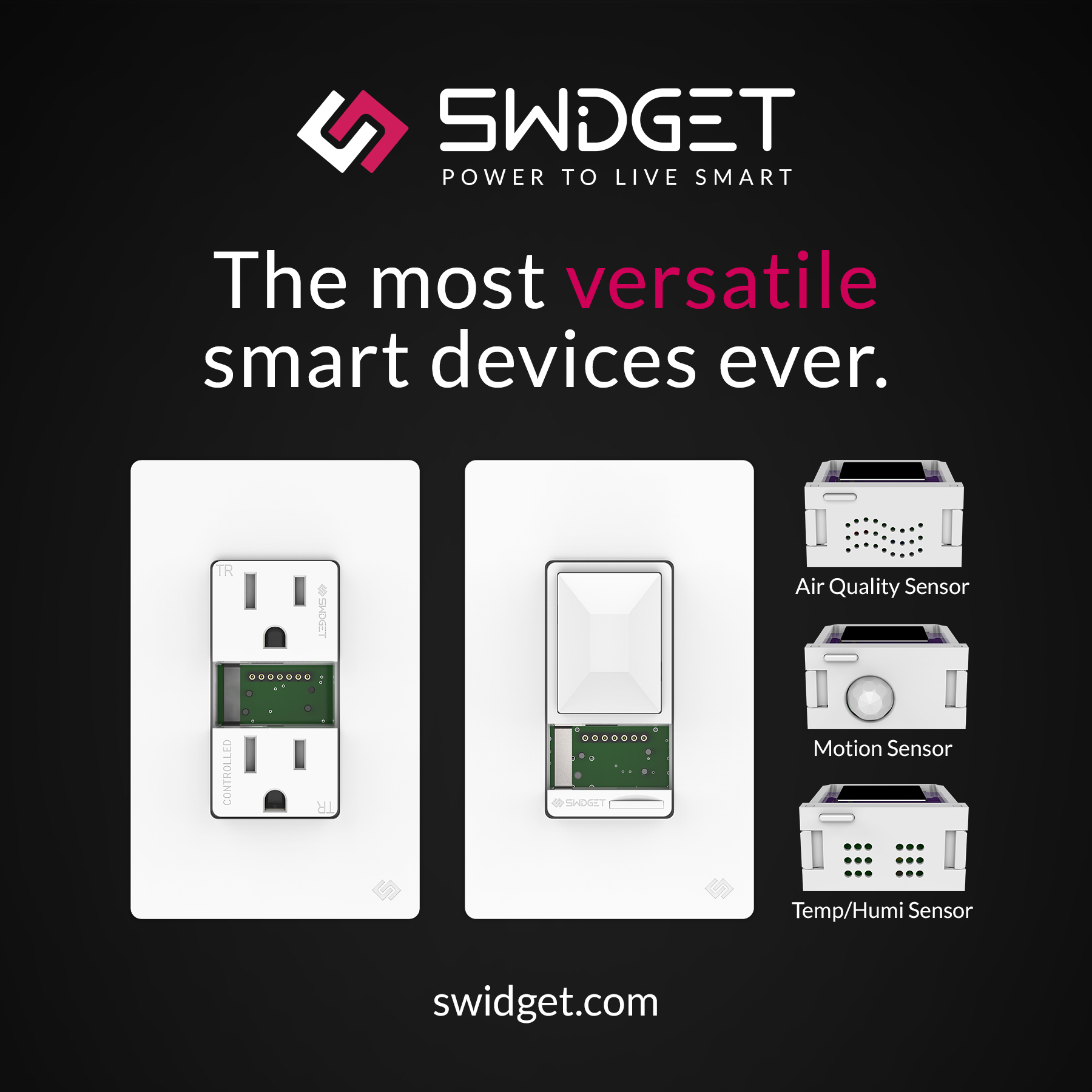 Modular smart device manufacturer, Swidget, earns award from the National Association of Home Builders