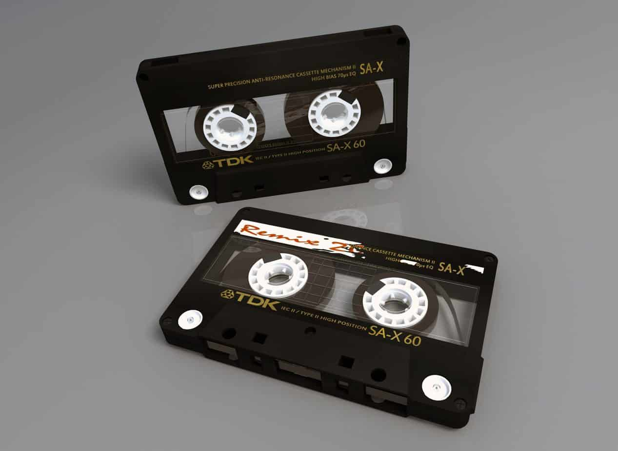 TDK cassette tapes