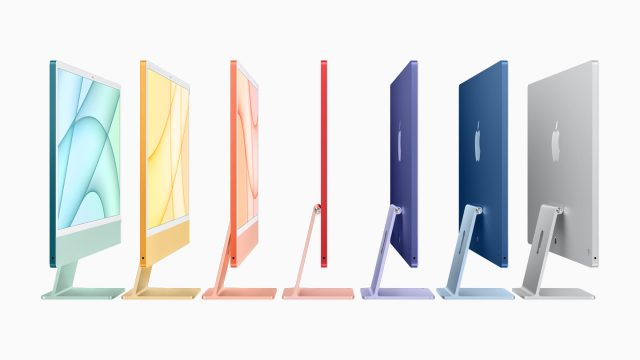 Apple Spring Loaded iMacs