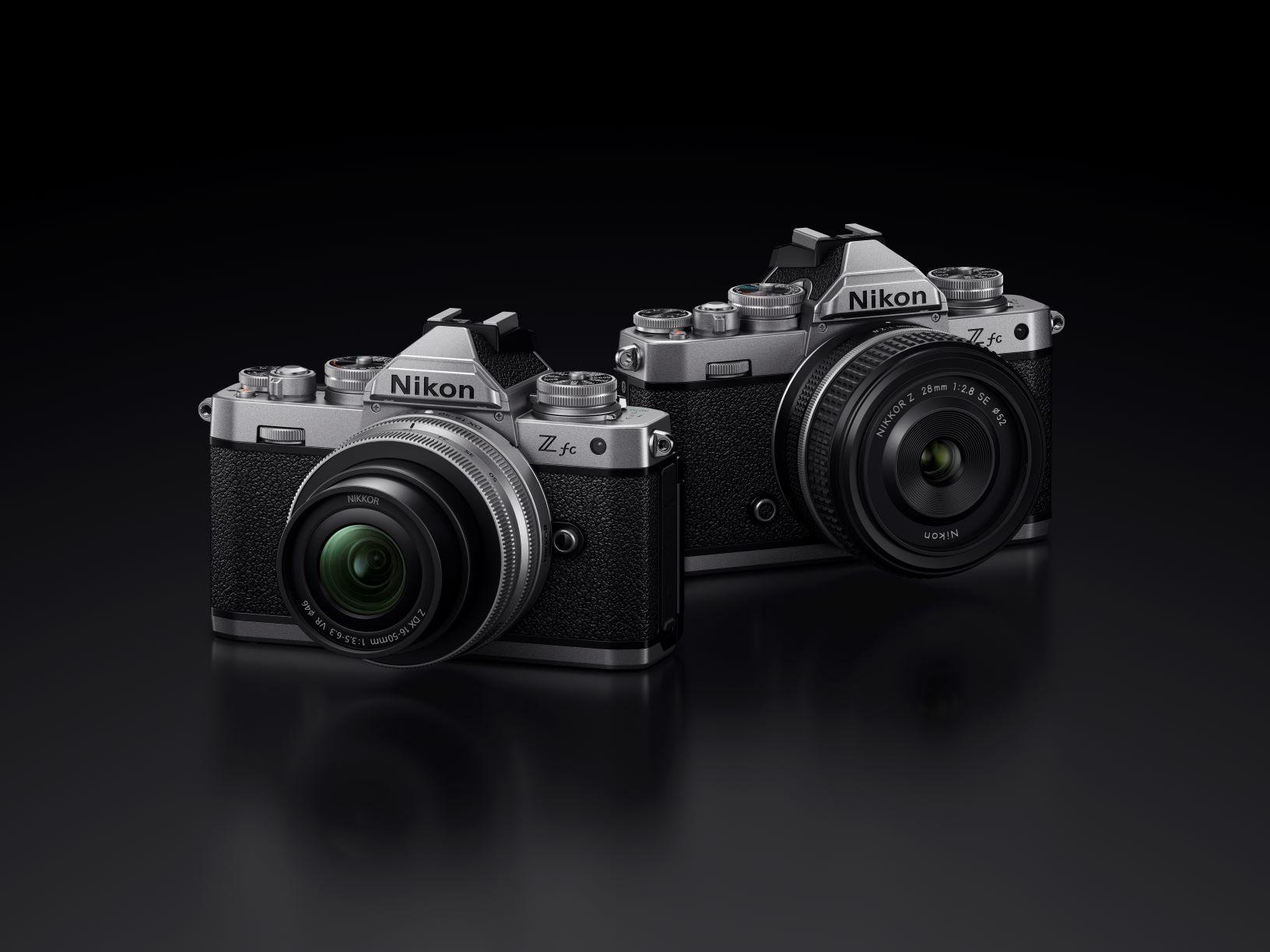 Nikon Z fc, a DX-format lightweight camera