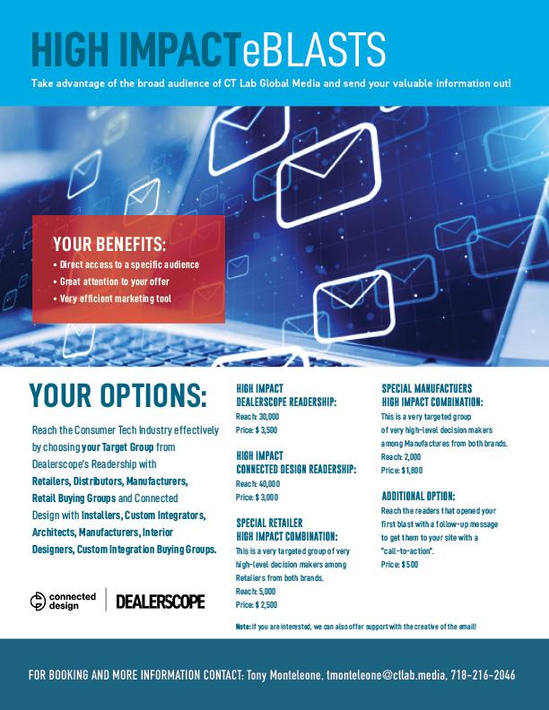 Dealerscope eBlast Marketing SellSheet