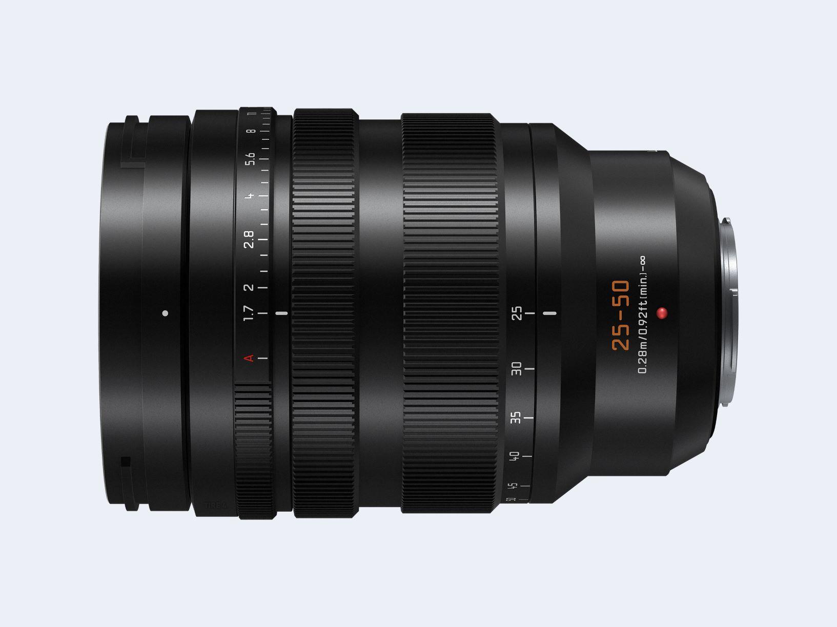 Panasonic LEICA DG VARIO-SUMMILUX 25-50mm lens