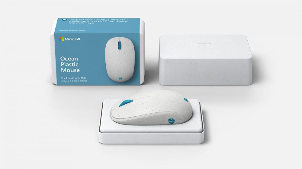 Microsoft Surface Ocean Plastic Mouse