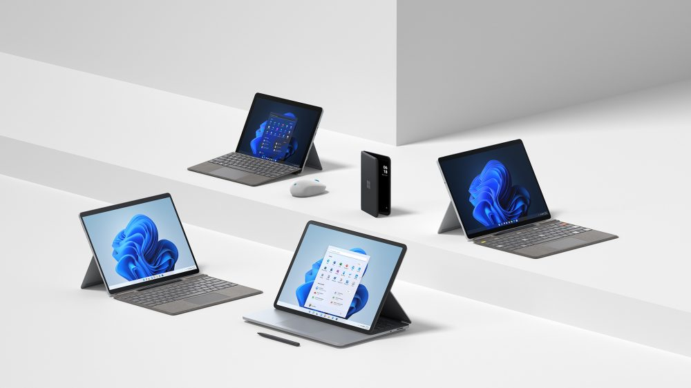 microsoft surface family of devices