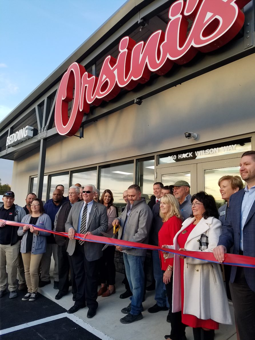 Orsini's Appliance Retailers Grand Opening