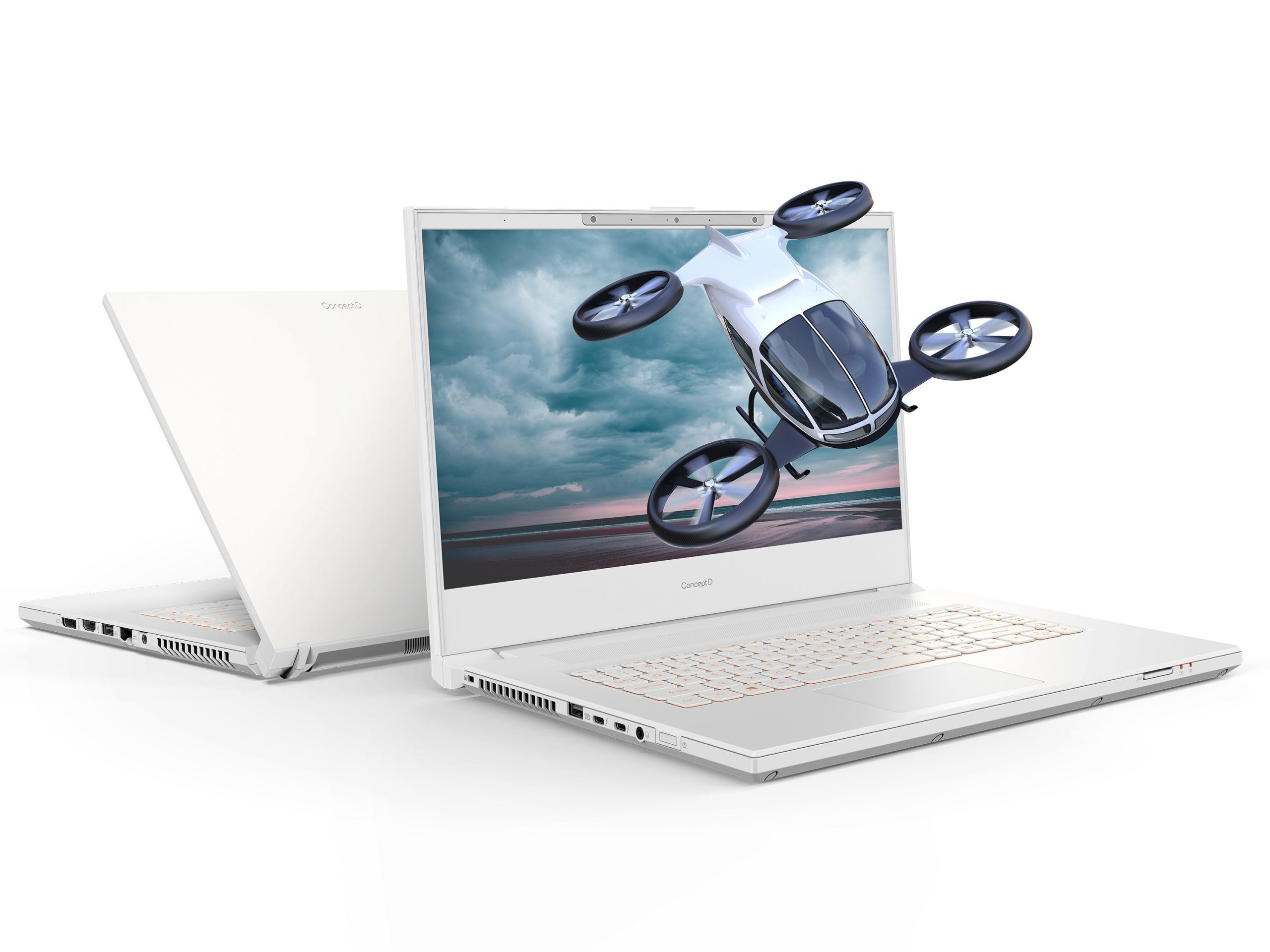 the new Acer Conecpt D7 laptop with Spatial Lab Visualization technology