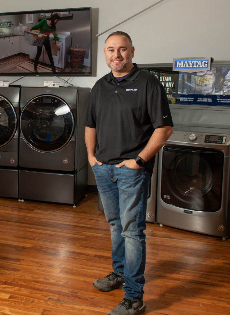 PJ Orsini leads Orsini's, one of the appliance retailers that has won the 2021 Dealerscope Retail Excellence Awards